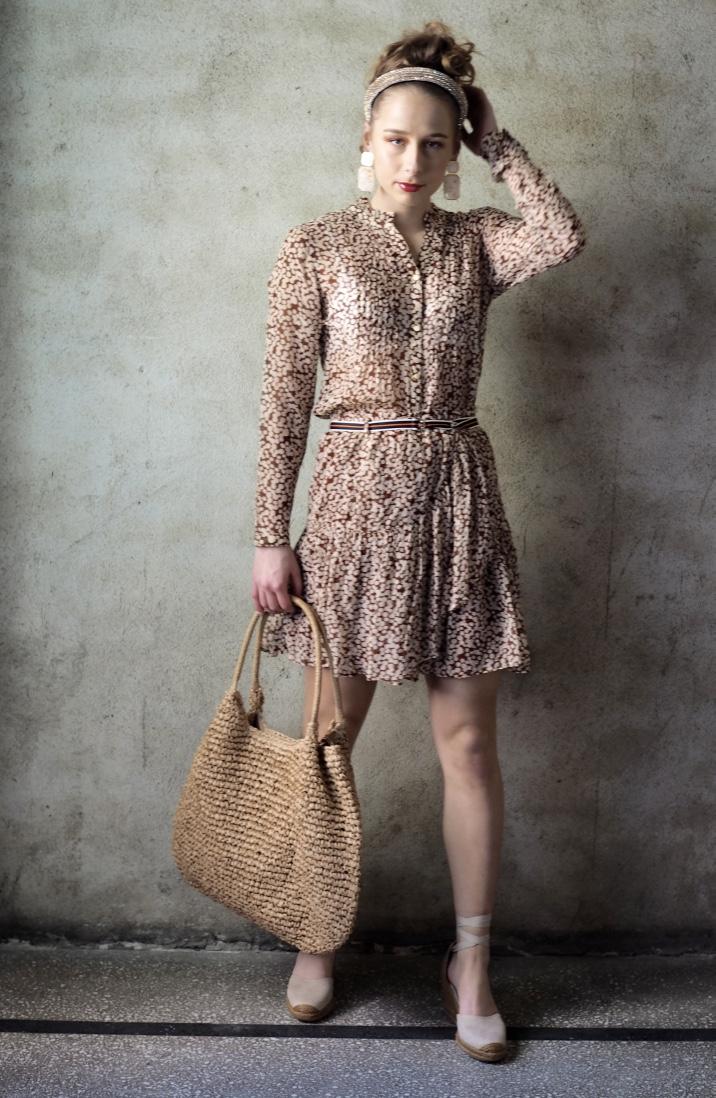 Natur Cremefarget kjole fra katrin uri Hverdagskjoler