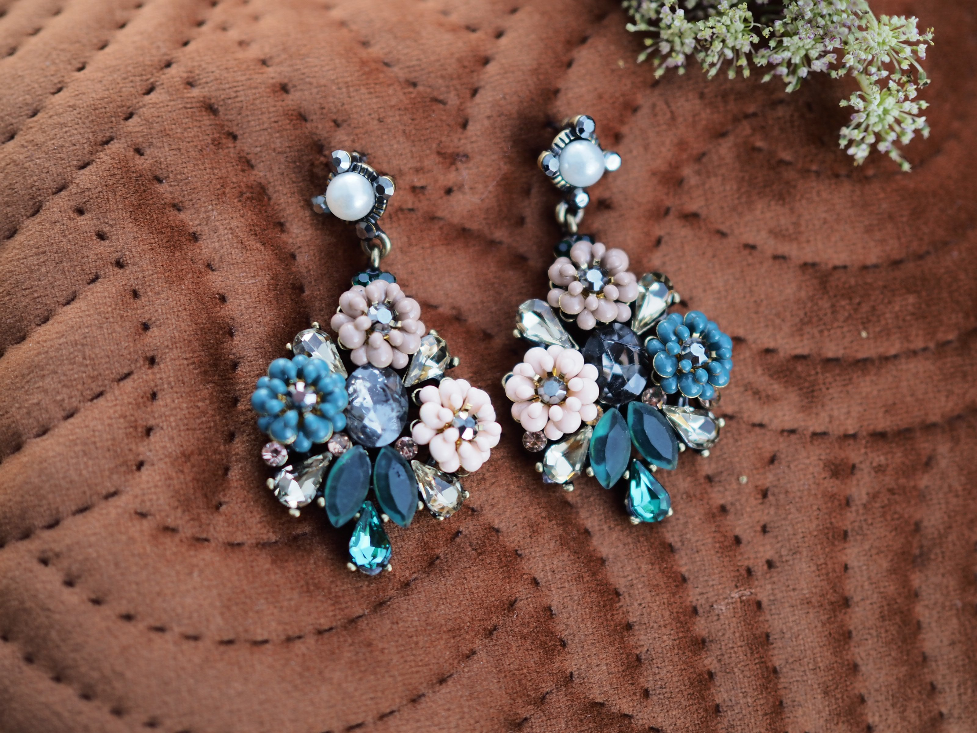 Nectar - Luxembourg earrings - Nude - The Nest Shop