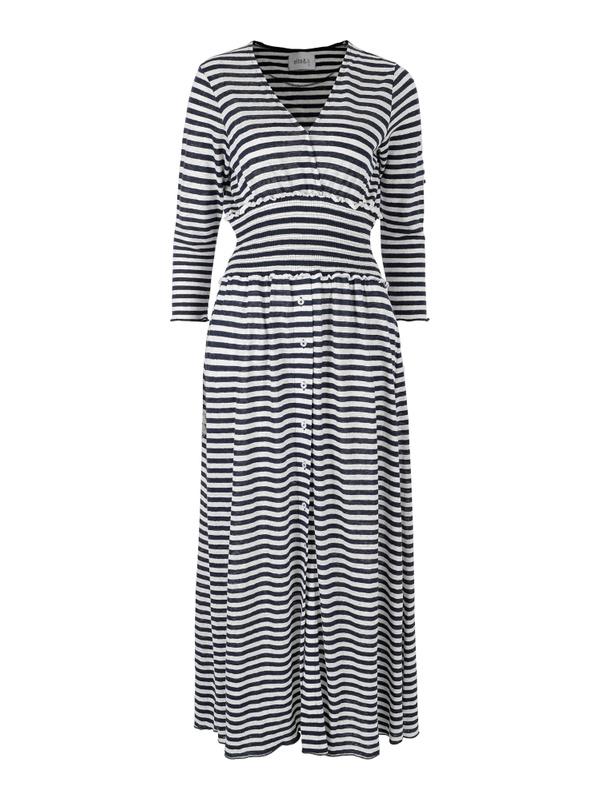 Ella&Il Olympia Linen Dress Stripes The Nest Shop