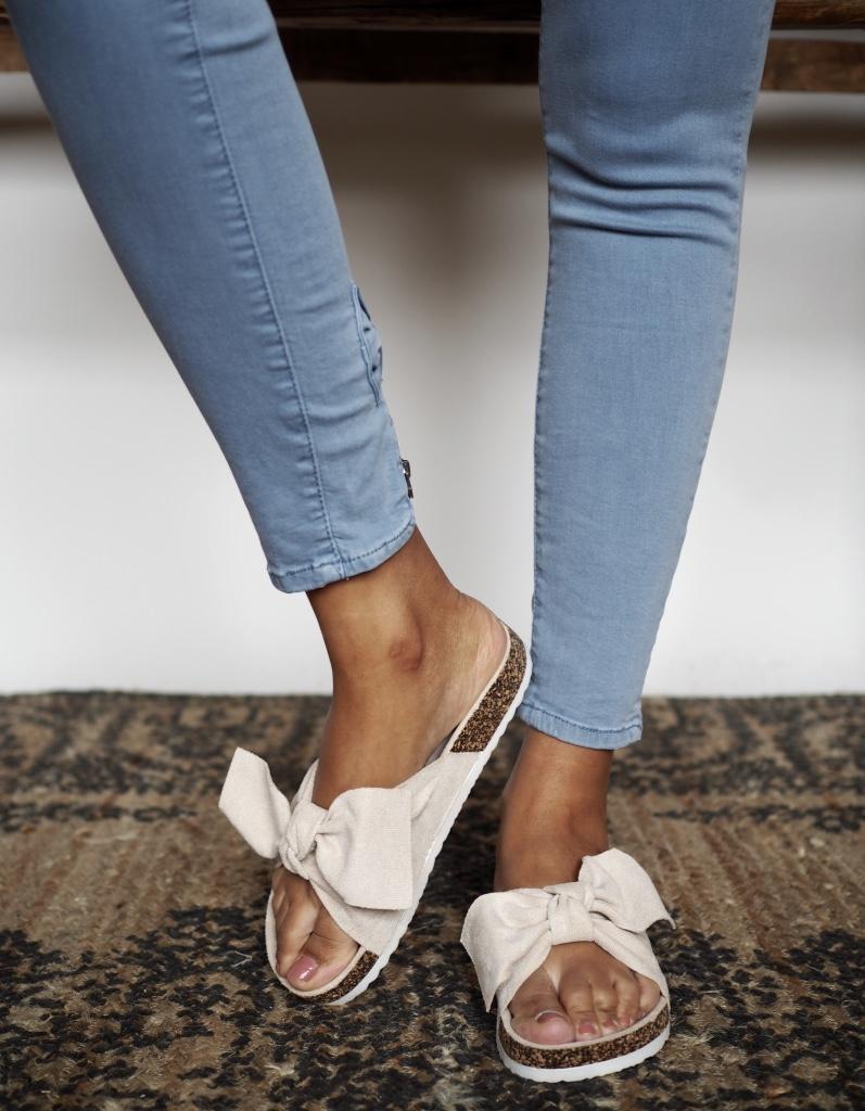 Nectar Shoes Slip In Sandal Blush The Nest Shop